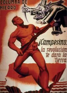 cartel-propagandistico-de-la-columna-de-hierro